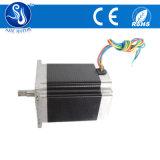 0.9 grau NEMA 23 76mm motor escalonado com o conector do motor de popa e fonte de alimentação