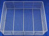 ステンレス鋼の金網の殺菌のバスケット