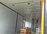 Envase prefabricado de acero de la casa de la talla grande de Comortable con la decoración de interior