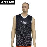 Venda por grosso de Design Personalizado se sublima Camiseta Ginásio Camisolas interiores (SL023)