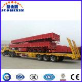 Le transport lourd Lowbed col de cygne d'excavatrice de la machine pour la construction de l'industrie de la remorque