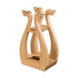 رفاهيّة خشبيّة [مدف] هبة يعبّئ [شمبن] خمر صندوق
