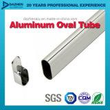 Perfil de alumínio personalizado para a câmara de ar do Wardrobe/tubulação ovais/redondas