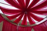 Il tubo e copre di figura della gabbia di uccello con colore rosso per la decorazione di cerimonia nuziale