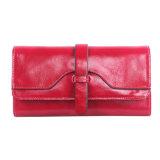 Портмона горячего бумажника женщин кожи сбывания длинние для повелительницы