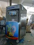 Gelado comercial de fabricante de gelado do sistema do arco-íris que faz a máquina o saque macio