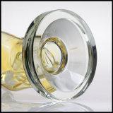 Nouveau design crâne tube droit de fumer le narguilé Glass Pipe à eau