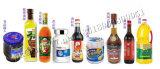 Máquina de etiquetas automática do frasco redondo para o molho da soja (MT-200)