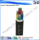 Smoke/PVC inférieur a isolé/câble de commande examiné/par Muti-Core/PVC engainé