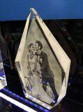 De Kubus van het Glas van het Kristal van de Vorm van Dimand voor de Giften van het Huwelijk