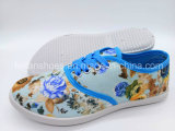 Дешевые цены женщин ЭБУ системы впрыска Canvas обувь для отдыхающих Sneaker Pimps обувь (FPY818-16)