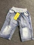 I bambini casuali all'ingrosso di modo mettono i jeans in cortocircuito del denim