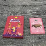 아이를 위한 주문을 받아서 만들어진 게임 카드 교육 카드