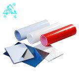 Películas protectoras adhesivas del PE claro
