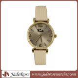 Horloge van de Dames van het Horloge van het Roestvrij staal van het Polshorloge van het Horloge van de Manier van het Horloge van het leer het Nieuwe