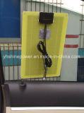 panneau solaire 5W stratifié par carte pour le chargeur de véhicule avec le surgeon de quatre plastiques