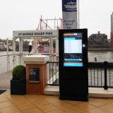 カスタマイズされる屋外LCDデジタルスクリーンのキオスク表記を広告する
