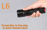 Leistungsfähige 1100lumens Kl-L6-S Taschenlampe mit nachladbarer Batterie