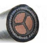 3 ОСНОВНЫХ XLPE среднего напряжения короткого замыкания Swa бронированных кабель питания