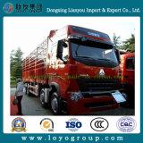 Sinotruk HOWO A7 8X4 31 Tonnen Zaun-Ladung-LKW-