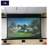 Bright 룸을%s 주문을 받아서 만들어진 Size Ec2-Black Crystal Motorized Projection Screen 또는 Anti Light Screen