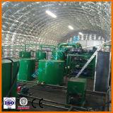 Petróleo de Mobil usado filtración del petróleo de la tecnología de la destilación de vacío que recicla la máquina