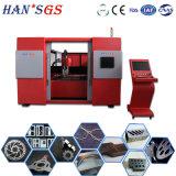 Machine de découpage en acier de laser de fibre de commande numérique par ordinateur Ipg de coupeur en métal de coût bas