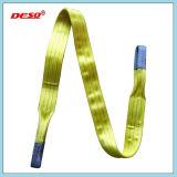 Imbracatura di sollevamento della tessitura del poliestere della cinghia di sicurezza di Drurable