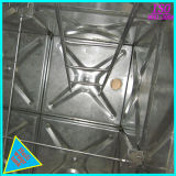 Galvanizados a quente do tanque de água em aço para água quente e frio