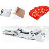 Rotes Paket und Eilbote schlagen und Faltblatt-klebende Papiermaschine ein (GK-780A)