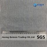 Jr043 16mm rayé satin de soie de 10 % 90 % en tissu de coton