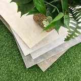 Mattonelle di pietra concrete di legno delle mattonelle del getto di inchiostro delle mattonelle rustiche della porcellana (OTA603-CINDER)