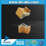 家の食器棚の木の穀物カラーのためのリビアのアルミニウムプロフィール
