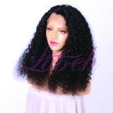 Virgen de la moda natural brasileño África profunda el cabello rizado pelucas