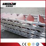 Escala de la madera contrachapada para sistema usado el andamio de aluminio del andamio de Ringlock/de acero