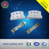 Alloggiamento spaccato del tubo del materiale LED del PVC di T8 Lss