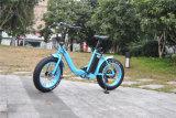 20 '' سبيكة رخيصة طيّ إطار العجلة سمين درّاجة كهربائيّة