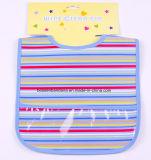 中国の工場農産物はプリント青いエヴァの吸収性の赤ん坊の供給の胸当てをカスタム設計する