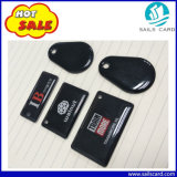 Tag Shaped de cristal da cola Epoxy NFC RFID