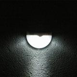Luz solar clara da parede do diodo emissor de luz do jardim com forma do Semi-Circle