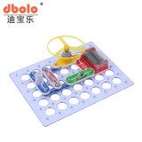 198 tipos diferentes bloques de construcción de la ciencia juguetes electrónicos
