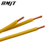 450/750 de padrão de construção isolado PVC das BS do fio--H07V-U