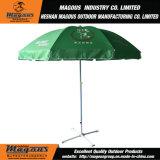 反紫外線証拠が付いている傘を広告する生ビール