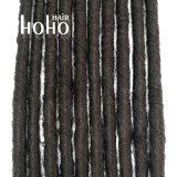 Asymétrique (SE) synthétique Backcombed dreadlocks Weavon cheveux 18 pouces