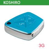 Traqueur minimum de l'appareil-photo SOS GPS de réseau 3G avec l'alarme d'automne