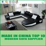 熱い販売のヨーロッパの本革の方法居間のソファー