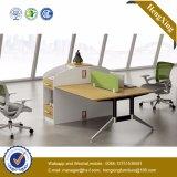 木MDFのオフィスの区分クラスタ事務員のスタッフワークステーション(UL-NM075)