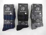 Qualitätmens-Sport-Mannschafts-Kleid-Socken in den verschiedenen Entwürfen