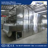 Secador ampliamente utilizado de la correa del acoplamiento del transportador/secador vegetal