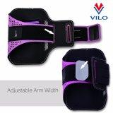Smartphone Handig het Aanstoten van Armband van de Sporten van de Fitness de Elastische Lopende, de Sport van de Armband voor het Lopen